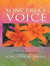 Sonceria's Voice (eBook): A Collection Of Poems And Prose
