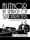 Author In Search Of Six Characters (eBook)