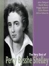 The Very Best of Percy Bysshe Shelley (MP3)