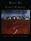 What We Can't Forgive (eBook)