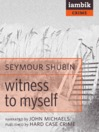 Witness to Myself (MP3)
