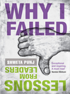 Why I Failed (eBook): Lessons from Leaders