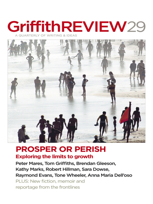 Griffith REVIEW, Volume 29 (eBook): Prosper or Perish