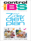 Control IBS Your 7-Day Diet Plan (eBook)