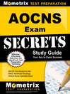 AOCNS Exam Secrets Study Guide eBook