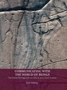 Communicating with the World of Beings (eBook): The World Heritage rock art sites in Alta, Arctic Norway