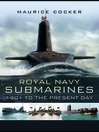 Royal Navy Submarines (eBook): 1901 to Present Day