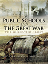 Public Schools and the Great War (eBook)