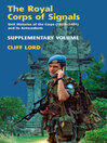 The Royal Corps of Signals (eBook): Unit Histories of the Corps (1920-2001), and its Antecedents