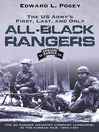 US Army's First, Last, and Only All-Black Rangers (eBook): The 2d Ranger Infantry Company (Airborne) in the Korean War, 1950-1951