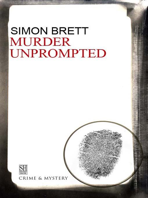 Murder Unprompted (eBook): Charles Paris Mystery Series, Book 8