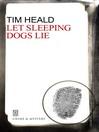 Let Sleeping Dogs Lie (eBook): Simon Bognor Series, Book 4