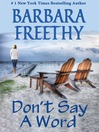 Don't Say a Word (eBook)