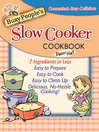Busy People's Slow Cooker Cookbook (eBook)