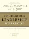 Courageous Leadership Workbook (eBook)