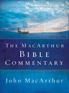 The MacArthur Bible Commentary (eBook)