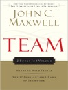 Team (eBook): Winning with People & The 17 Indisputable Laws of Teamwork