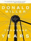 A Million Miles in a Thousand Years (MP3): What I Learned While Editing My Life