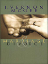 Marriage & Divorce (eBook)