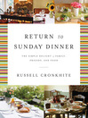 A Return to Sunday Dinner (eBook)