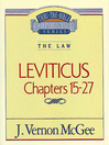 Thru the Bible Volume, 7 (eBook): The Law (Leviticus 15-27)