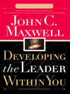 Developing the Leader Within You (eBook)