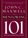 Mentoring 101 (eBook): What Every Leader Needs to Know