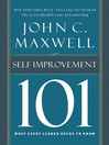 Self-Improvement 101 (eBook): What Every Leader Needs to Know