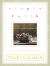 Simple Faith (eBook): Discovering What Really Matters
