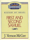 Thru the Bible Volume, 12 (eBook): History of Israel (1 and 2 Samuel)