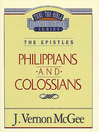 Thru the Bible Volume, 48 (eBook): The Epistles (Philippians / Colossians)