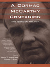 A Cormac McCarthy Companion (eBook): The Border Trilogy