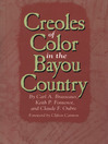 Creoles of Color in the Bayou Country (eBook)