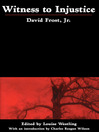 Witness to Injustice (eBook)