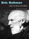 Eric Rohmer (eBook): Interviews