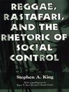 Reggae, Rastafari, and the Rhetoric of Social Control (eBook)