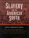 Slavery and the American South (eBook)