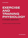 Exercise and Training Physiology (eBook)