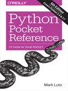 Python Pocket Reference (eBook)