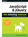 JavaScript & jQuery (eBook): The Missing Manual
