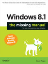 Windows 8.1 (eBook): The Missing Manual