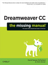 Dreamweaver CC (eBook): The Missing Manual