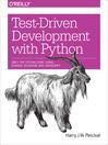 Test-Driven Development with Python (eBook)
