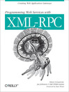 Programming Web Services with XML-RPC (eBook)