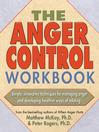 Anger Control Workbook (eBook)