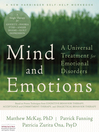 Mind and Emotions (eBook): A Universal Treatment for Emotional Disorders