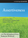 Assertiveness (eBook): The Relaxation and Stress Reduction Workbook Chapter Singles