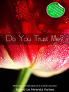 Do You Trust Me? (eBook): A collection of five erotic stories