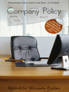 Company Policy (eBook): A collection of five erotic stories
