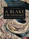 A Blake Dictionary (eBook): The Ideas and Symbols of William Blake